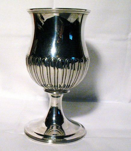 Georgian Scottish Sterling Silver Goblet