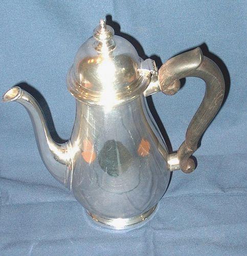 Tiffany Sterling Coffee Pot John C. Moore II Mark