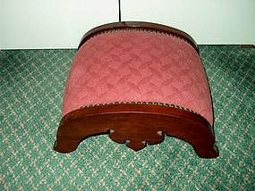 Edwardian Mahogany Foot Stool