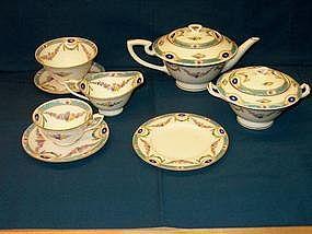 Royal Worcester Tea Set; Puritan Pattern