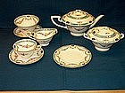 Royal Worcester Tea Set; Puritan Pattern