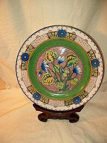 Wedgwood Hand Painted Cabinet Plate; c. 1880