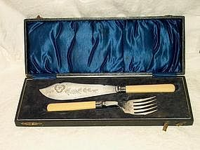 James Dixon & Sons Boxed Fish Set