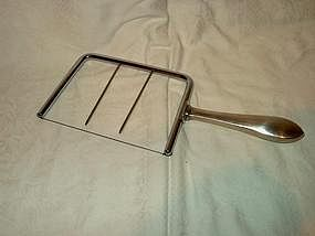 Sterling Cheese Cutter; Whiting