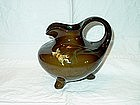 Weller Glazed Pottery Ewer; Louwelsa