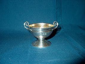 Sterling Silver Master Salt; c . 1850