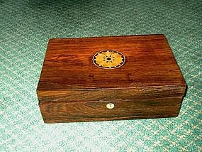 Victorian Rosewood Lap Desk