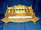 Brass Inkstand or Standish