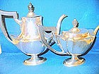Gorham Sterling Silver Teapot and Coffeepot