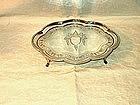 George III Salver; Cartouche Shape