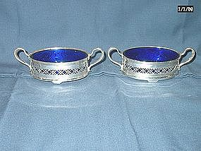 Sterling Silver Tiffany Open Salts