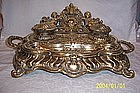 Brass Inkstand with Cupids