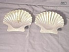 Black, Starr & Gorham Sterling Shell Dishes