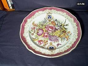 Hochst Style Armorial Platter