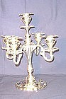 Five Light Candelabra; Silver Plate