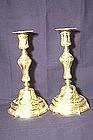 Louis XVI Gilt (Dore') Bronze Candlesticks