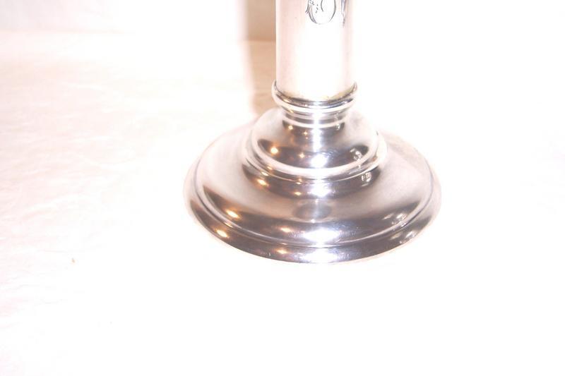 Sterling Silver Candlesticks; Jenkins & Jenkins