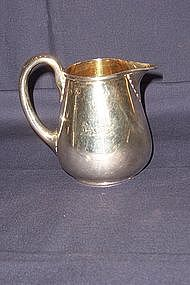 English Victorian Sterling Creamer