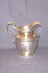 Sterling Silver Pitcher; William Durgin