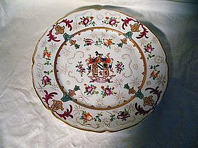 Samson Armorial Plate; Jackson Family
