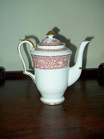 """Crown Staffordshire Teapot; """"Ellesmere"""""""