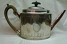 Georgian Silver Teapot Peter and Ann Bateman