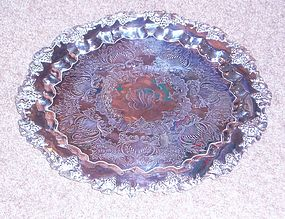 Large Sterling Tray by E.G. Webster