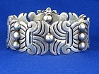 HECTOR AGUILAR MAGUEY SILVER BRACELET 1940'S