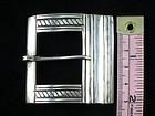 ARTEMIO NAVARRETE 980 STERLING SILVER BELT BUCKLE