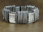 """HECTOR AGUILAR BRACELET SILVER """"PAPERCLIP"""" c. 1948"""