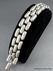 William Spratling Sterling Silver Brick Link Bracelet Vintage 1940's