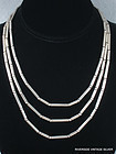 1950's William SPRATLING 52 inch  Silver Necklace