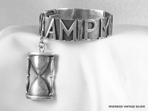 MARGOT De Taxco AM PM Bracelet Silver