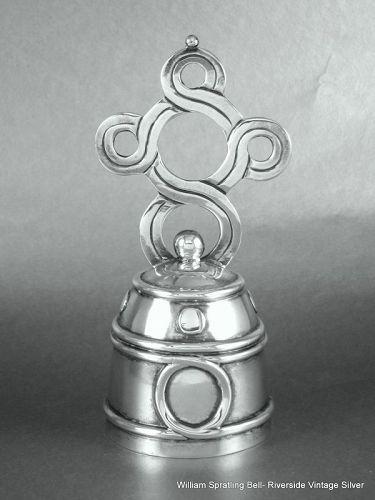 William Spratling Bell Sterling Silver
