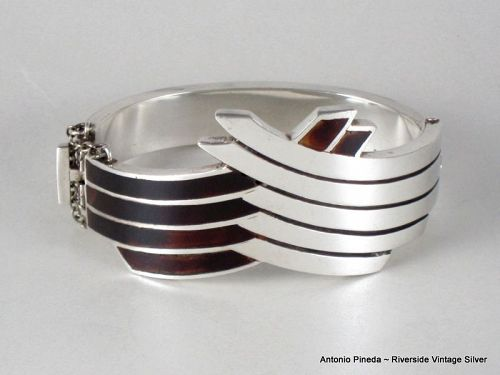 Antonio Pineda Bracelet 970 Silver & Shell