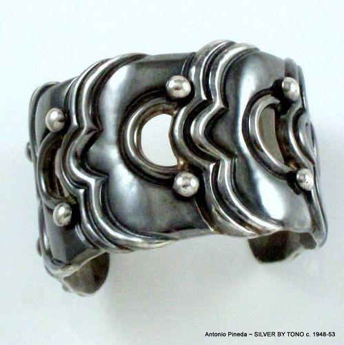Antonio Pineda SILVER BY TONO Sterling Silver Bracelet