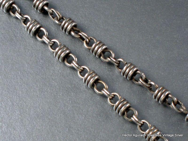 Hector Aguilar Necklace 940 Silver Vintage 1940-62