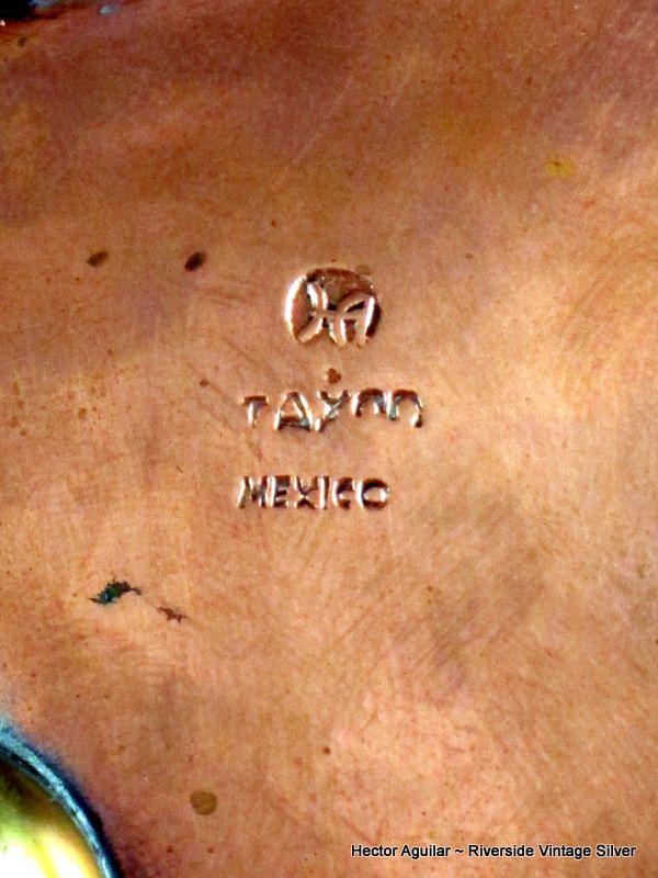3 Hector Aguilar Copper & Brass Ashtrays  Circa 1940