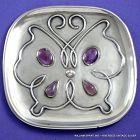 William Spratling  Amethyst & Silver Butterfly Tray c. 1950's.