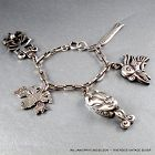 William Spratling ~Silson~ Silver Charm Bracelet c. 1940's