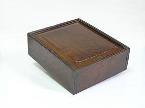 A Handsome Hualimu Covered Box of Qing Dynasty