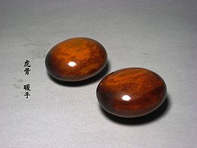 A Charming Pair of Nuan-Shou of Qing Dynasty.