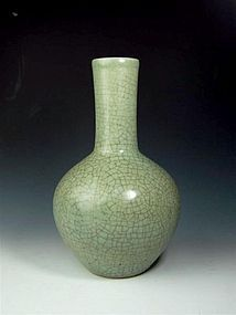A Celadon Tianqioping of Qing Dynasty
