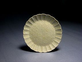 A Ding-Typed White-Glazed Dish of Northern Song Dynasty