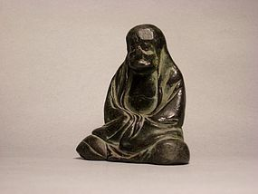 A Metal Monk Figure of 12th Century.