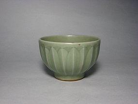 A Longquan Lotus-Petal Bowl in Nice Form.