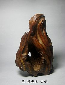 A Rare Sandalwood Mountain Alcove of Qing Dynasty
