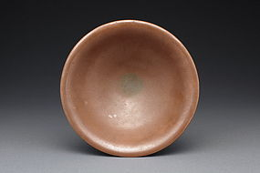 A Rare and Decent Yaozhou Persimmon Bowl of N.Song D.