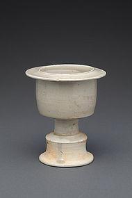 A Nice Stem Incense Burner of N. Song Dynasty.