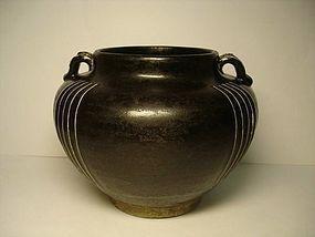 A Unique Cizhou Jar of Jin Dynasty